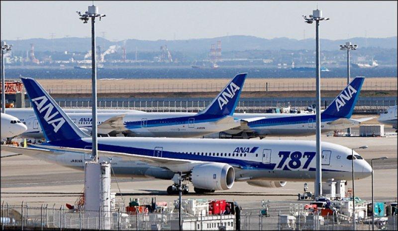 Cinco equipos técnicos de Boeing trabajan en los 17 Dreamliner de All Nippon Airways (ANA)