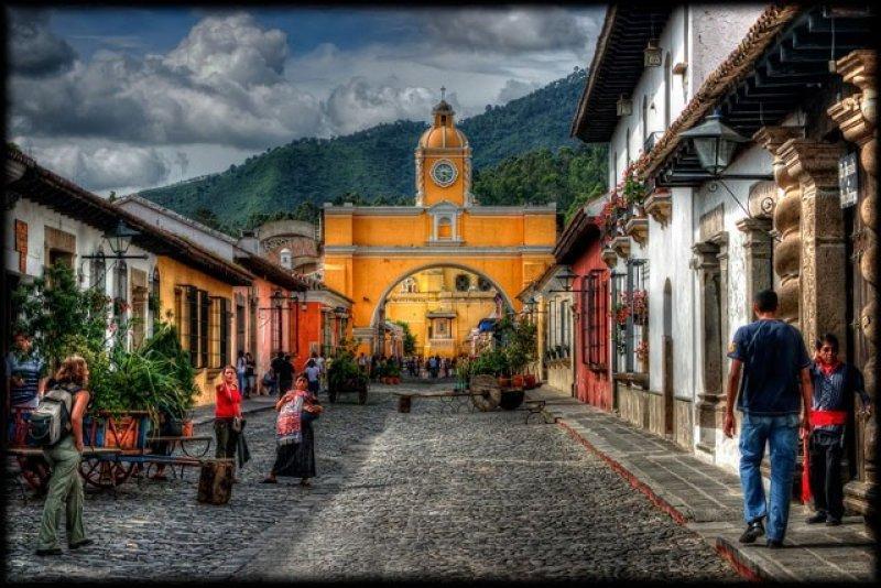 La ciudad de Antigua, una de las principales atracciones de Guatemala