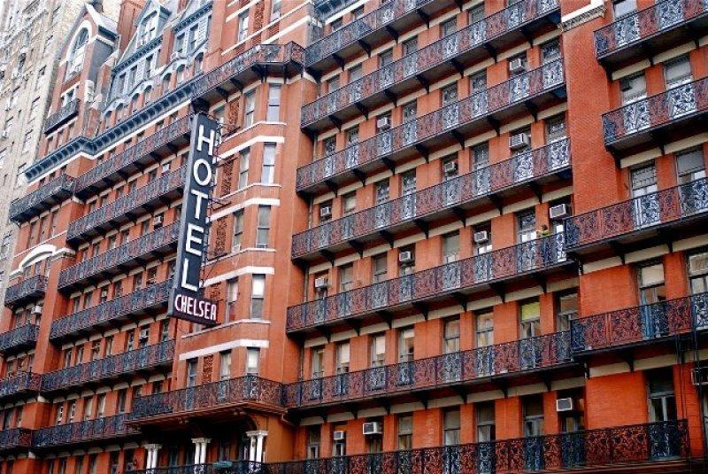 Fachada del afamado Hotel Chelsea