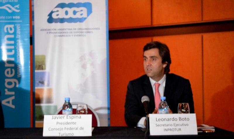 Leonardo Boto, secretario Ejecutivo del INPROTUR.