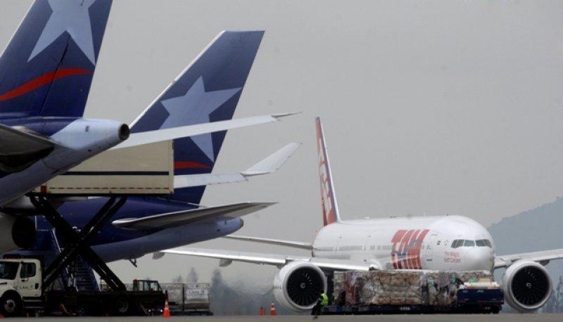 Se redujeron 1,1% los pasajeros de LATAM en abril