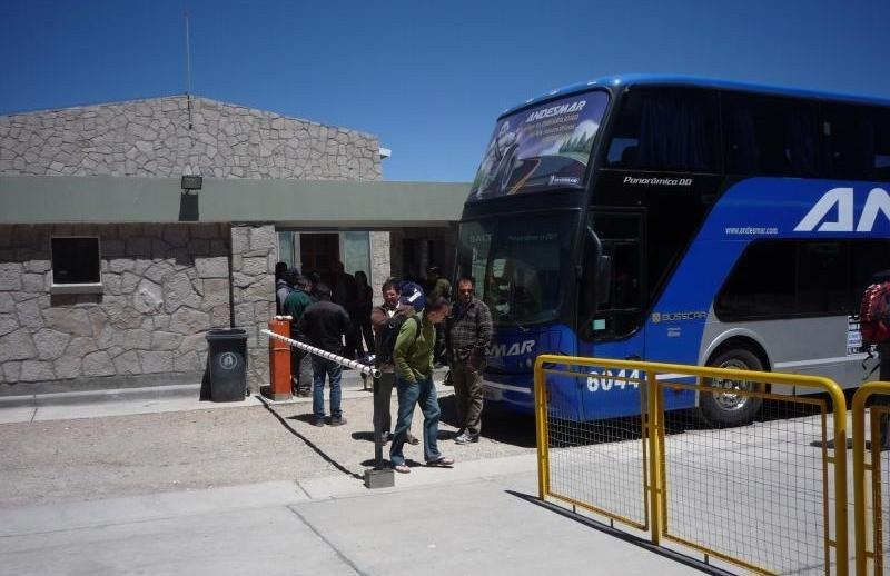 El paso fronterizo conecta Jujuy (Argentina) con San Pedro de Atacama (Chile).