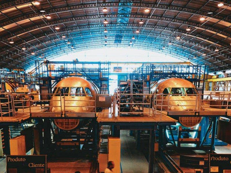 Planta de fabricación de Embraer