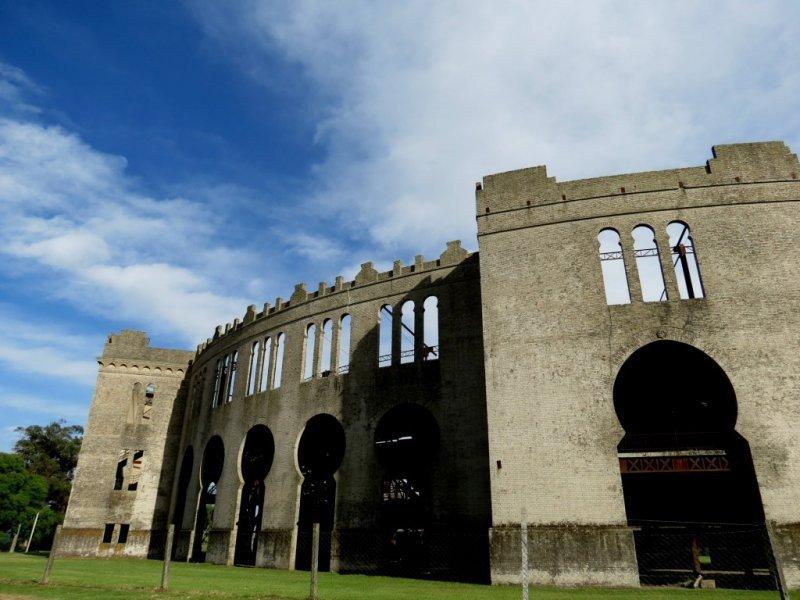 El Real de San Carlos es la única plaza de toros de estilo morisco en América del Sur