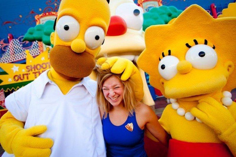 Los Simspons ya cuentan con una atracción en Universal Orlando, si bien ahora tendrán un parque temático.