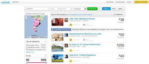 La plataforma tiene 4.000 propiedades registradas en Argentina.