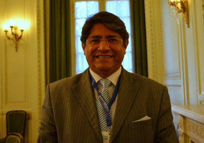 Carlos Canales Anchorena, presidente de la Cámara Nacional de Turismo de Perú.
