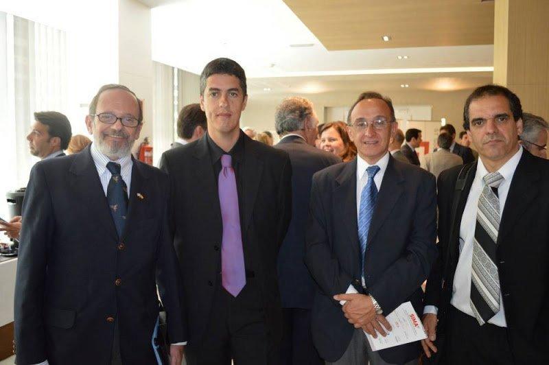 Miembros de la delegación uruguaya en SIMA 2013