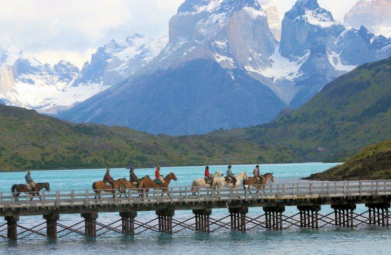 La Patagonia chilena recibe anualmente 600 mil turistas internacionales.