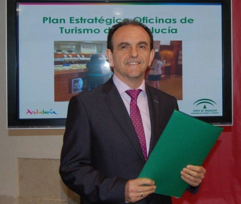 El consejero andaluz de Turismo y Comercio, Rafael Rodríguez.
