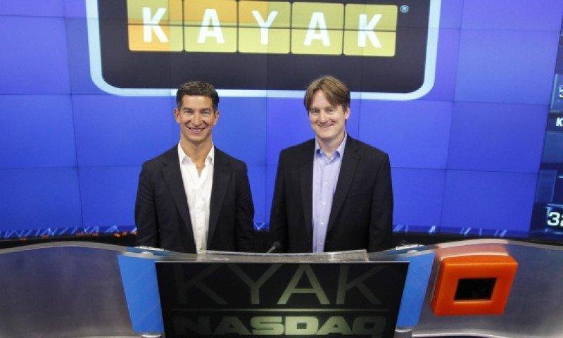 Los fundadores de Kayak.