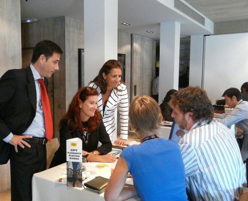 Imagen de un workshop organizado por la Agencia Catalana de Turismo, donde sector público y privado se coordinan para vender la oferta turística a operadores de todo el mundo.
