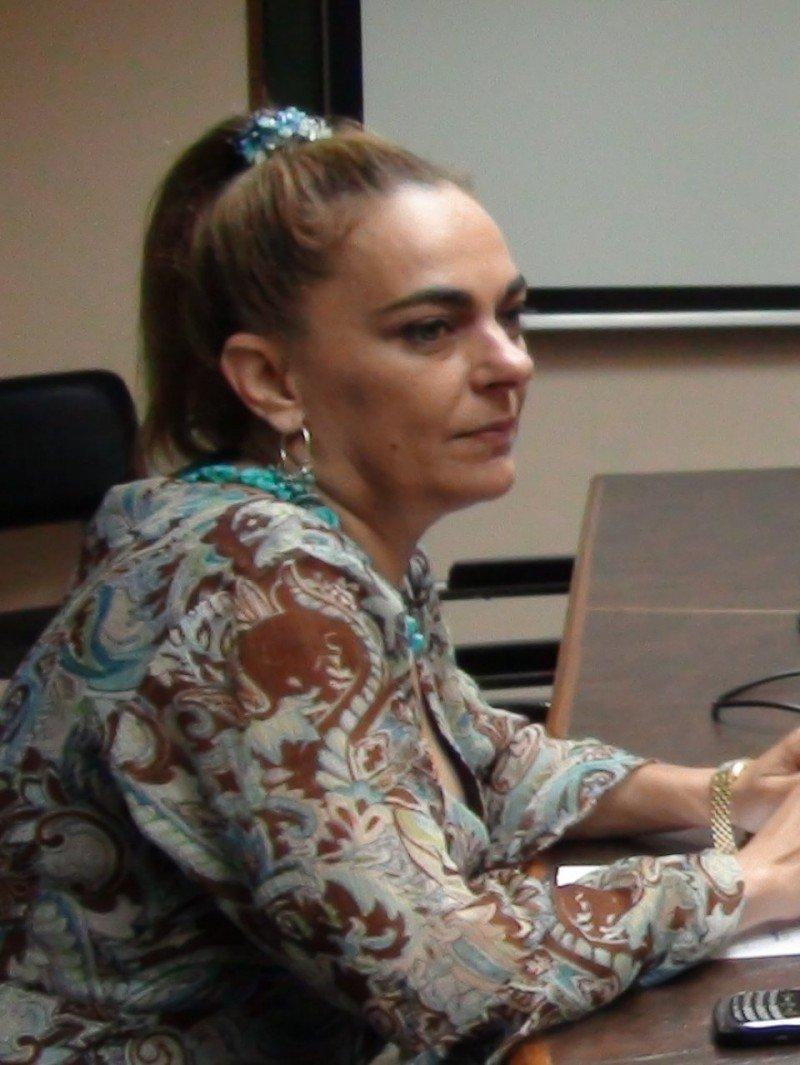 La presidenta de Aviba, Silvia Riera.