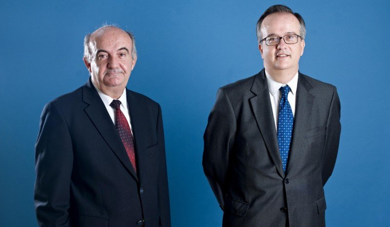 Simón Pedro Barceló Vadell (dcha.) y Simón Barceló Tous, copresidentes del grupo Barceló.