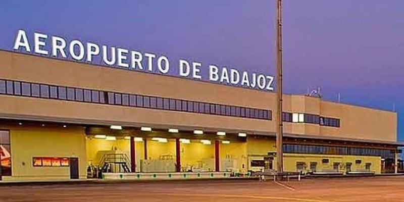 Aeropuerto de Badajoz.