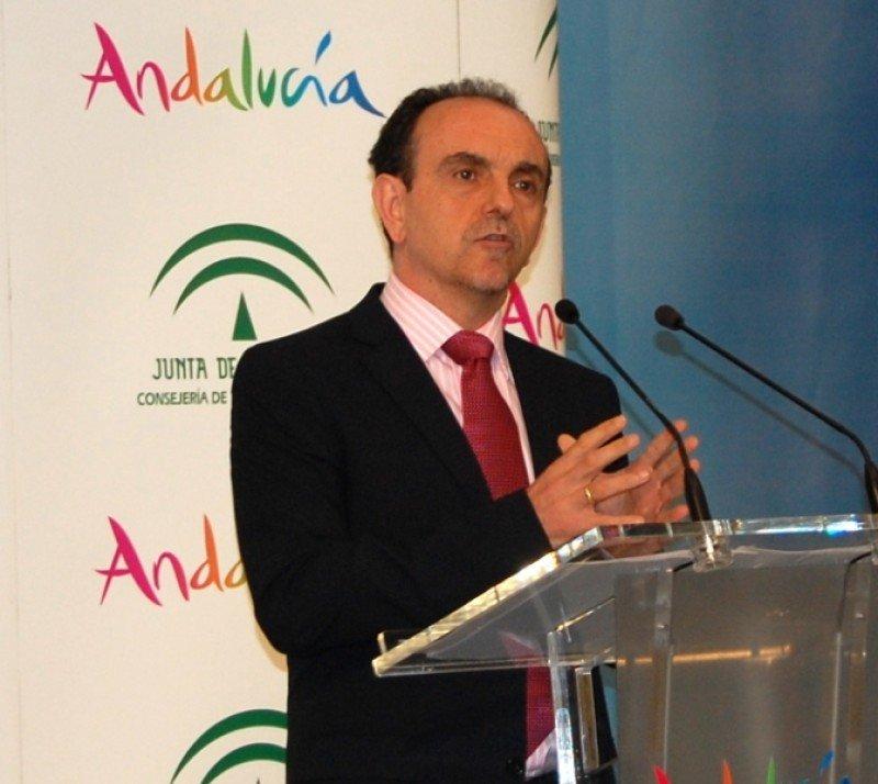 El consejero de Turismo y Comercio de Andalucía, Rafael Rodríguez.