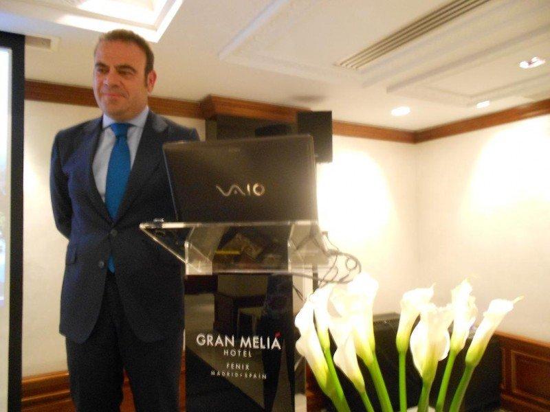 Gabriel Escarrer adelanta un 2013 a doble velocidad para el sector turístico español.