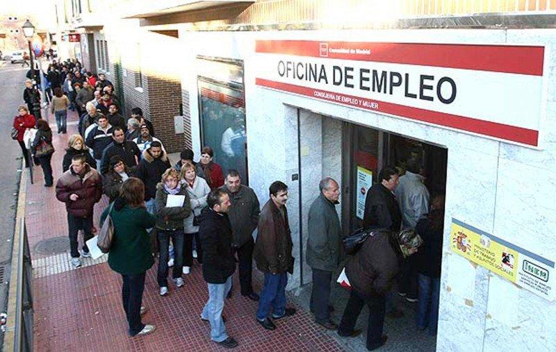 El desempleo empeoró un 1% en la Eurozona respecto a un año antes