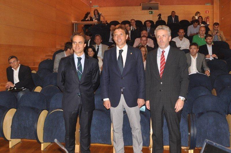 Imagen de la sesión extraordinaria del Patronato de la Fundació Turisme Palma de Mallorca 365 que ha tenido lugar en la Fundació Pilar i Joan Miró.