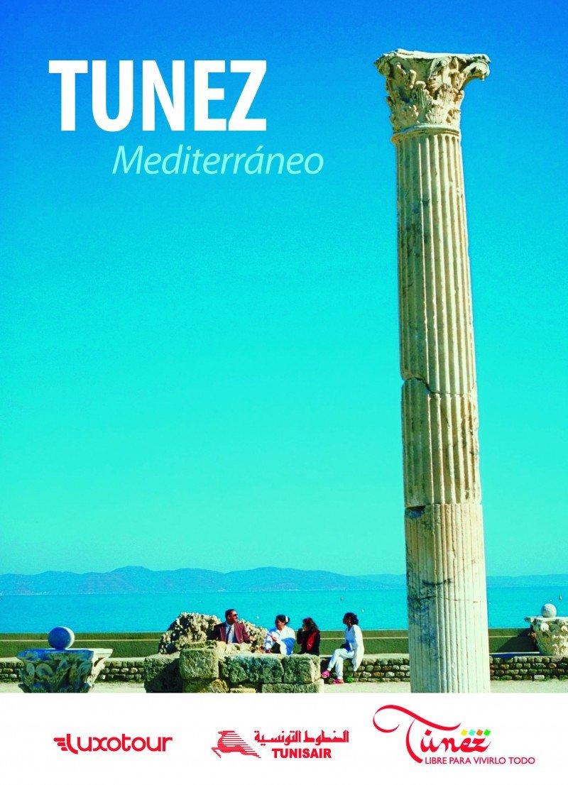 Portada del folleto de Túnez.