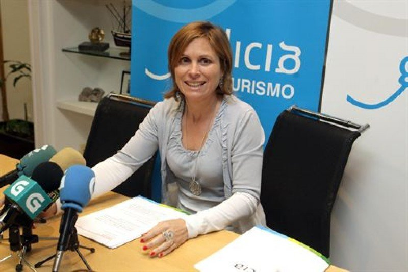 La directora de Turismo de Galicia, Nava Castro.