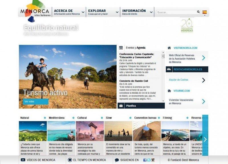 ¿Debe se Menorca.es un canal de reservas?