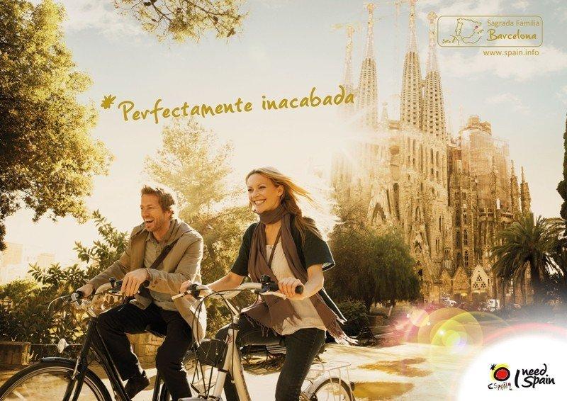 Uno de los anuncios de la campaña 'I Need Spain' de Turespaña.