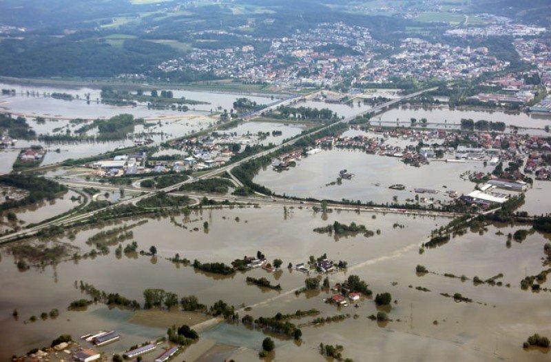 Las inundaciones han afectado a buena parte de Europa.