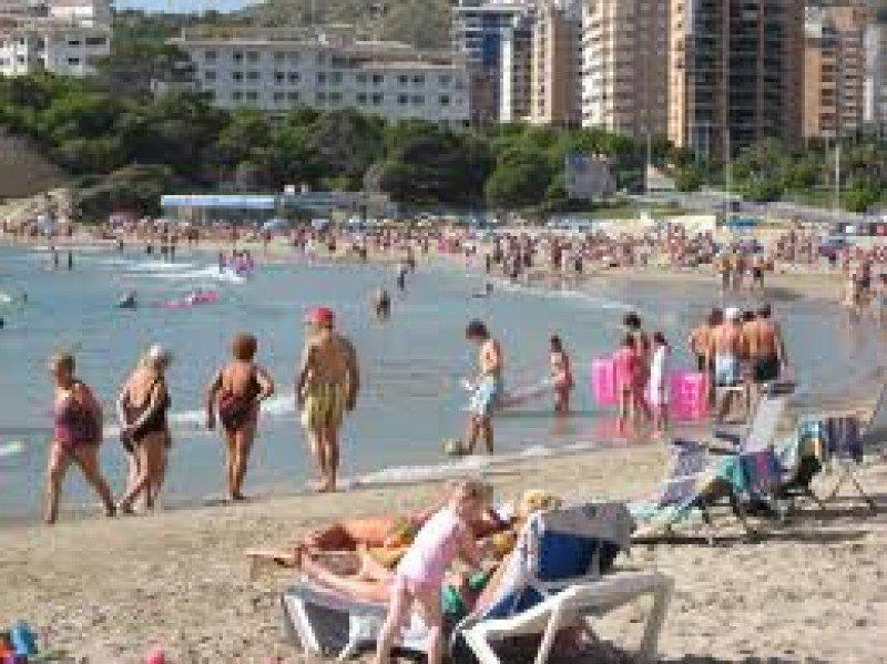 La llegada de turistas franceses ha seguido al alza.