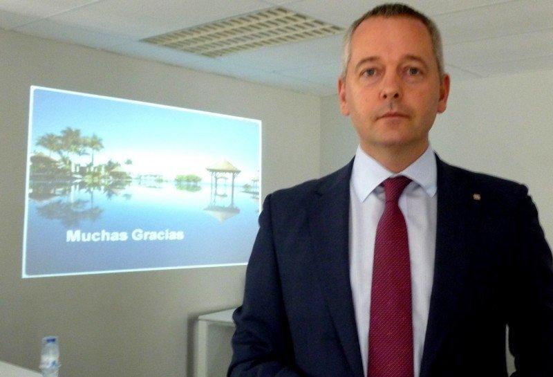 El director de Operaciones de TUI TRAVEL España y Andorra, Ian Richard Livesey.
