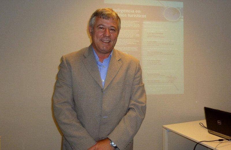 El director gerente de la Agencia de Turismo de las Islas Baleares, José Marcial Rodríguez.