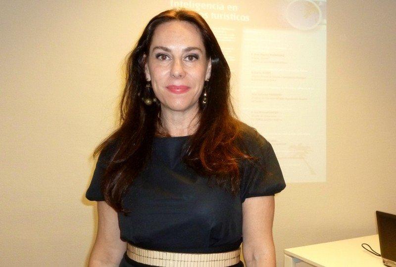 Directora de Miembros Afiliados de la Organización Mundial del Turismo, Yolanda Perdomo.