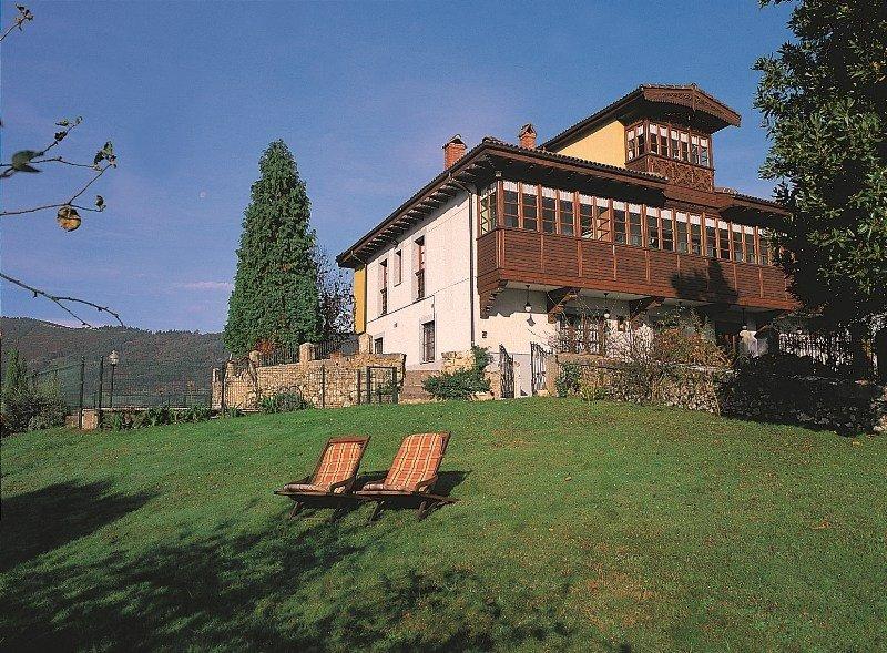 Una casa rural en Asturias.