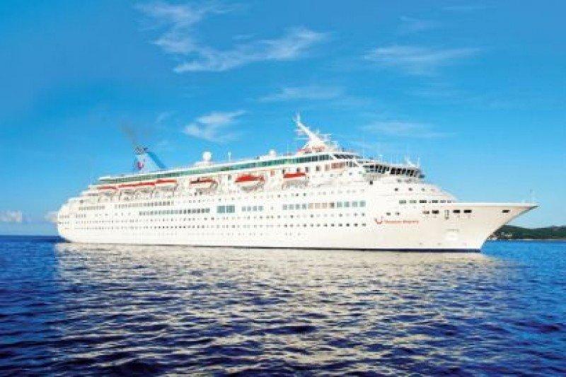 El Thomson Majesty tiene capacidad para 1.256 pasajeros.