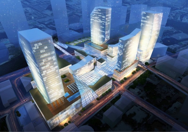 El hotel proyectado en el complejo Brickell CitiCentre tendrá 263 habitaciones y 89 apartamentos