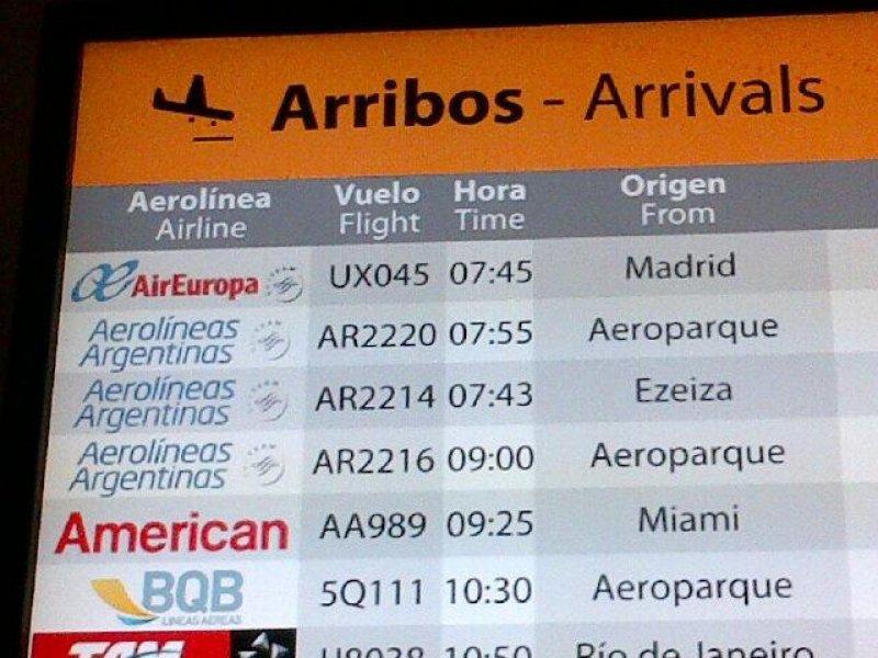 Primer vuelo de Air Europa llegó a Montevideo con 80% de ocupación