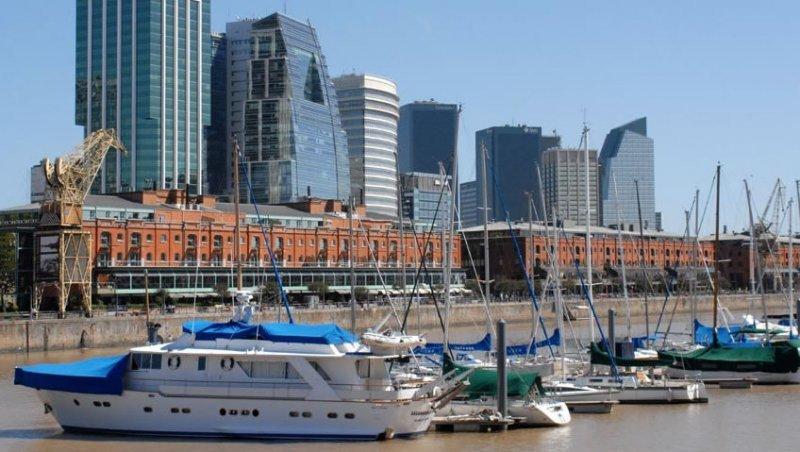 Turistas arribados al puerto de Buenos Aires gastaron US$ 16,3 millones