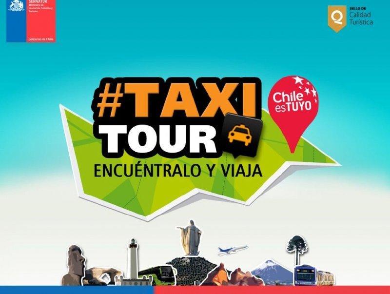 Chile lanza original promoción: viajes flash gratis con el 'TaxiTour'