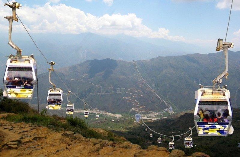 Teleférico en región peruana de Huancavelica costará US$ 45,9 millones
