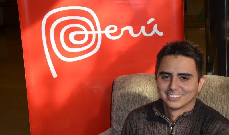 Renzo Benavente, especialista de mercado en PromPerú.