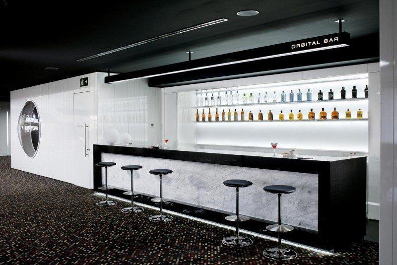 El nuevo bar del futurista hotel