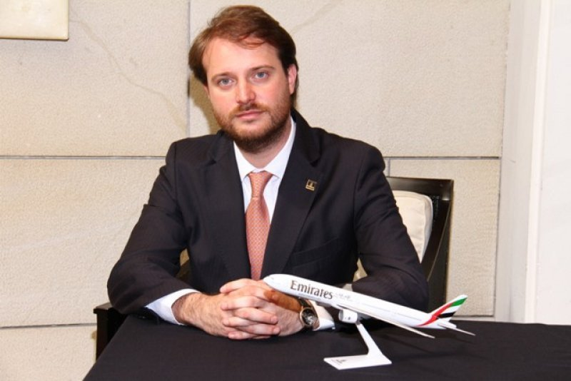 Fernando Joselevich representa a la aerolínea Emirates en Argentina y Uruguay