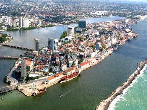 Recife, una de las sedes de la Copa de las Confederaciones