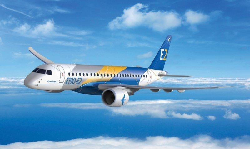 La nueva gama E-Jets E2 tendrá tres modelos diferentes.