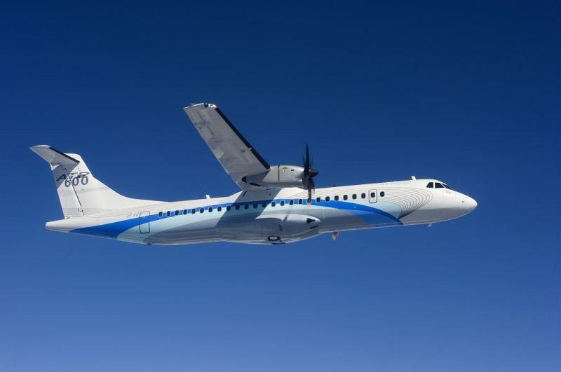 Avianca recibe el primero de los quince nuevos aviones ATR 72-600