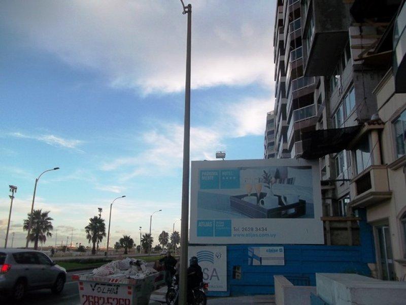 Nuevo hotel en Montevideo no tiene nombre pero sí fecha de inauguración