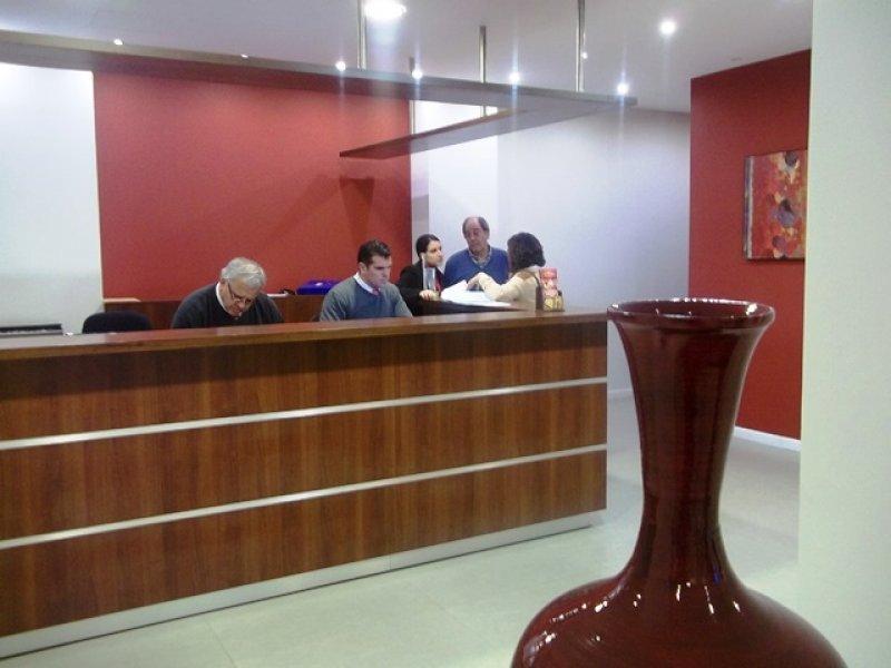 Nueva imagen de la recepción y el lobby