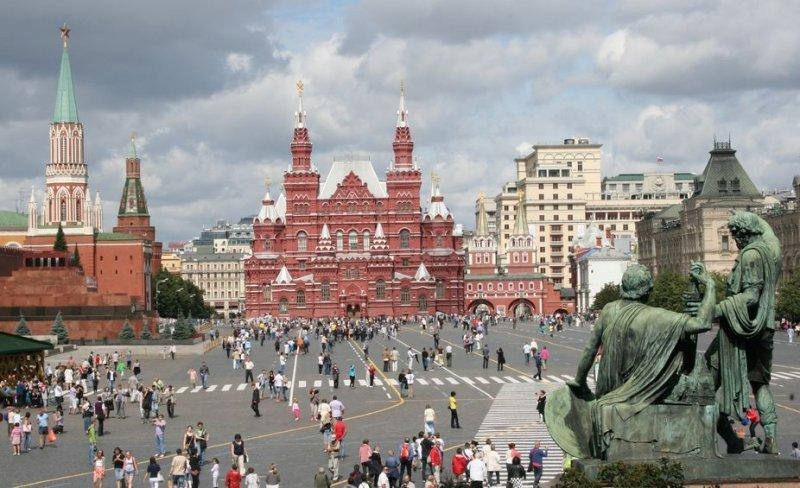 Plaza Roja, Moscú.