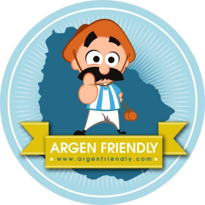 El logo puede ser usado por cualquier negocio que ofrezca beneficios especiales para argentinos