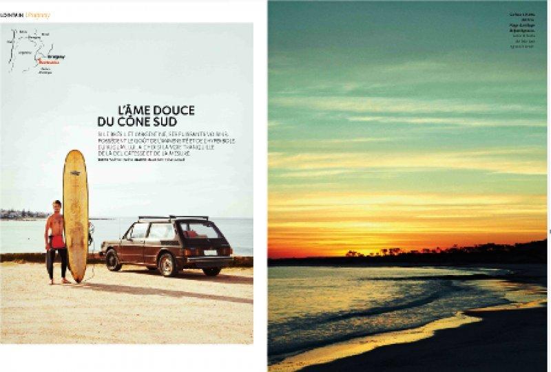 Así empieza el artículo de Uruguay en Air France Magazine